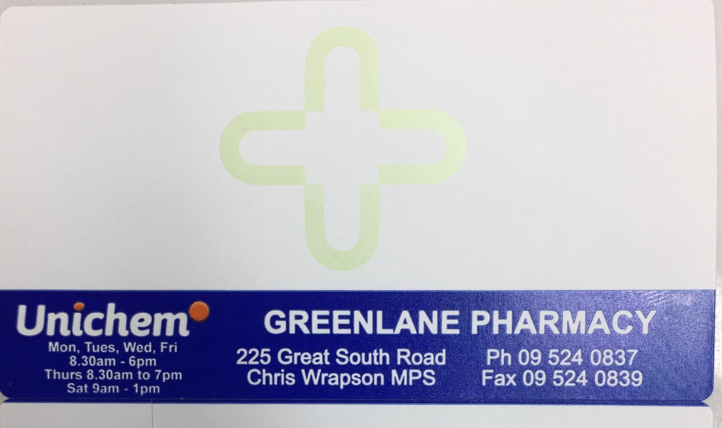 Unichem Greenlane