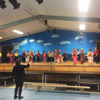 Japanese Dance Rehersal