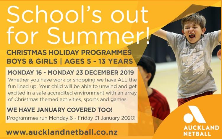 HP Advert Auckland Netball DecJan