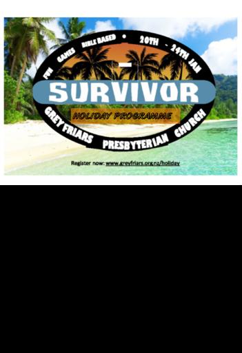 Survivor Advert Updated