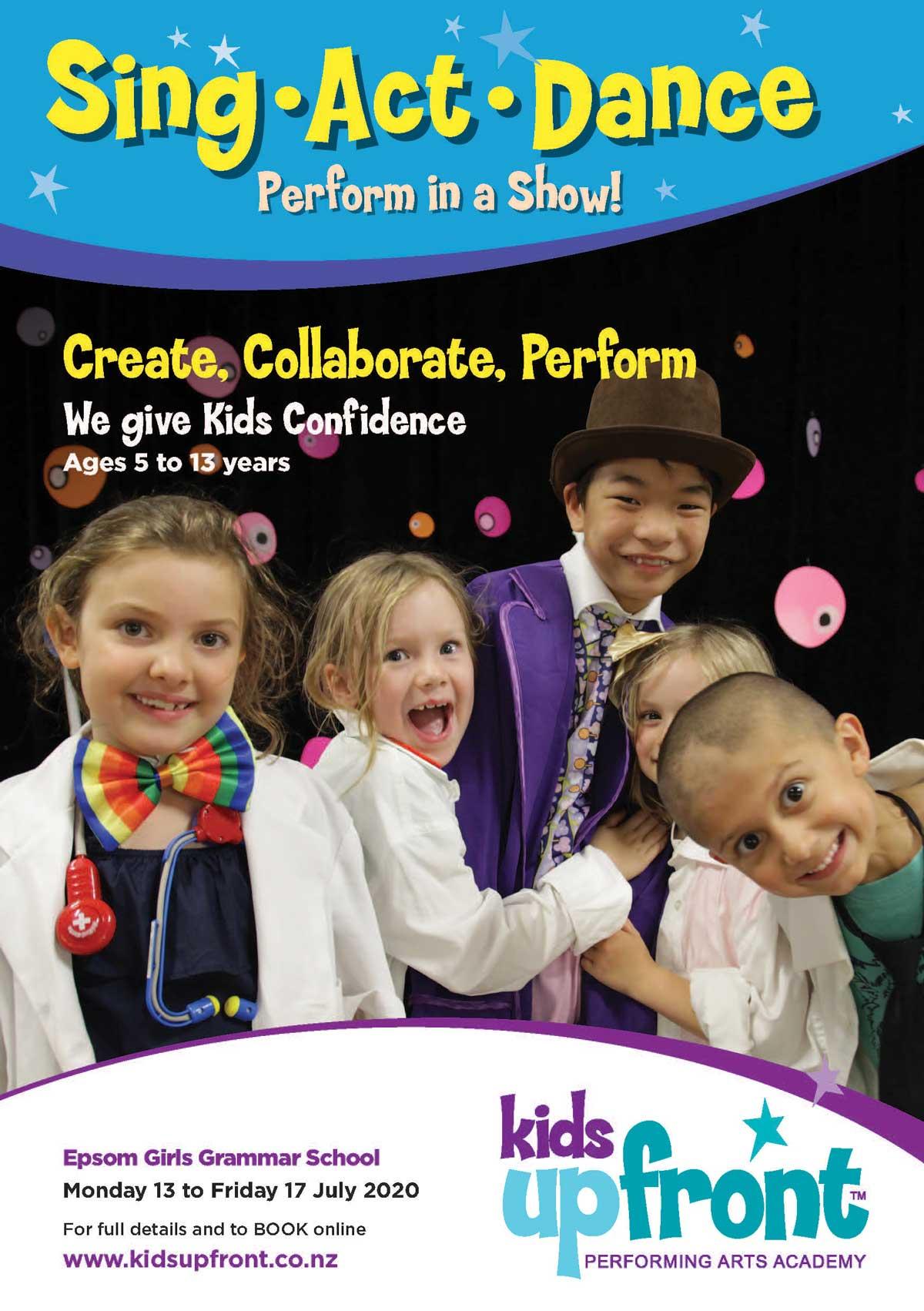 Performing Arts Holiday Program