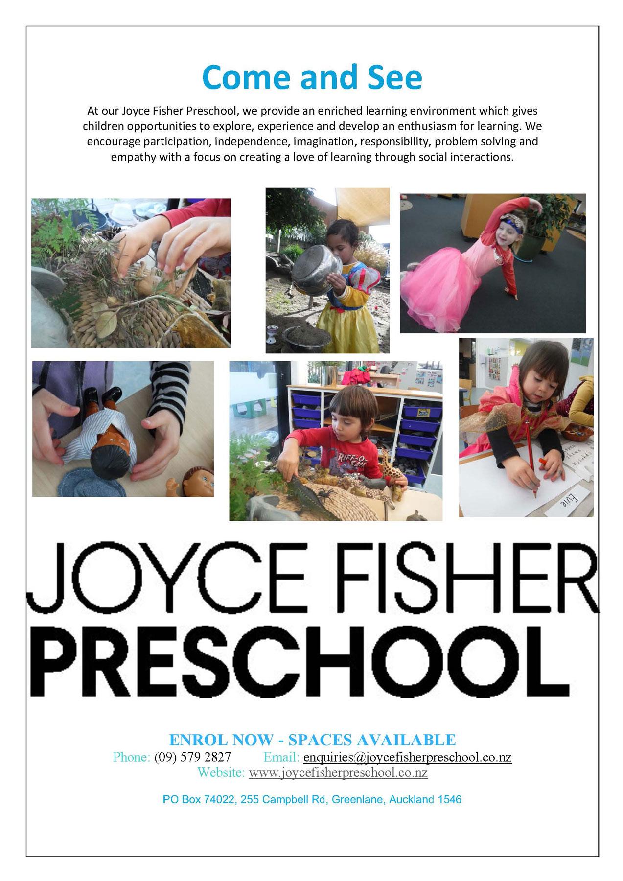 Joyce Fisher Preschool