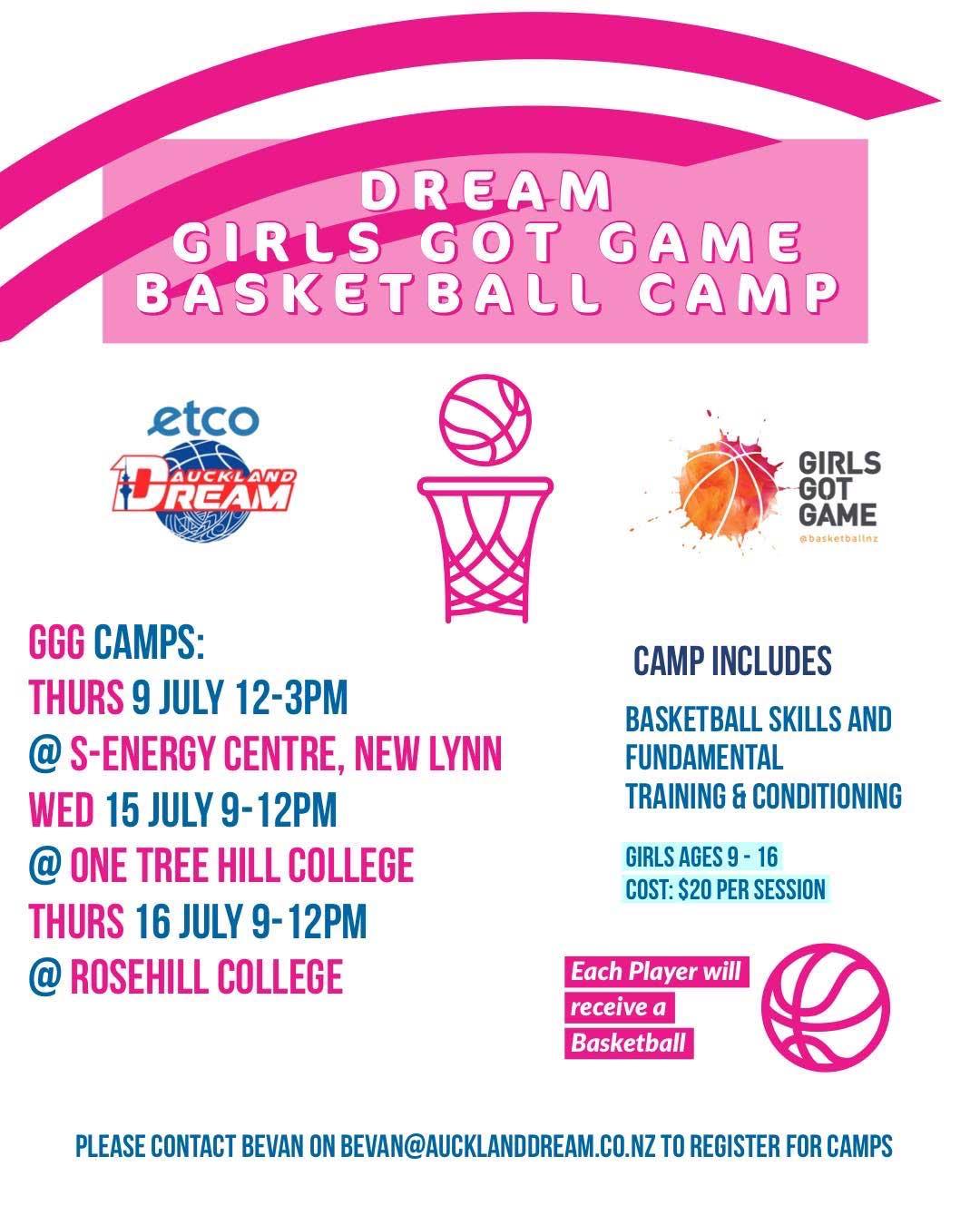 Girls Got Game Basketball Camps