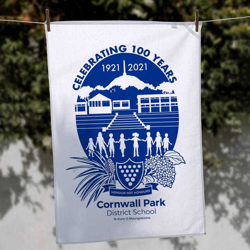 Commemorative Tea Towel